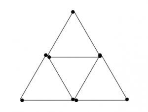 Degtukai - devyni degtukai penki trikampiai - atsakymas