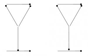 Degtukai - dvi taurės