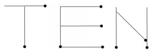 Degtukai - iš devynių degtukų dešimt - atsakymas