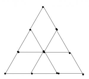 Degtukai - iš trylikos trikampių septyni trikampiai - atsakymas