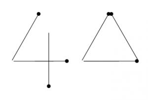 Degtukai - keturi trikampiai - atsakymas
