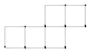Degtukai - kvadratai