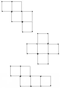 Degtukai - penki kvadratai - atsakymas