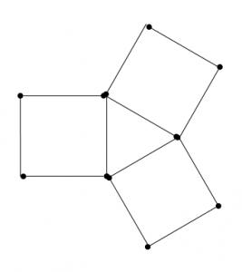 Degtukai - trikampiai ir kvadratai - atsakymas