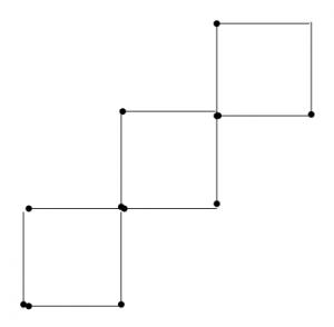 Degtukai - trys kvadratai iš penkių - atsakymas