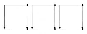 Degtukai - trys kvadratai ir laikas