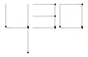 Degtukai - trys kvadratai ir laikas - atsakymas