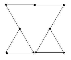 Degtukai - trys trikampiai - atsakymas